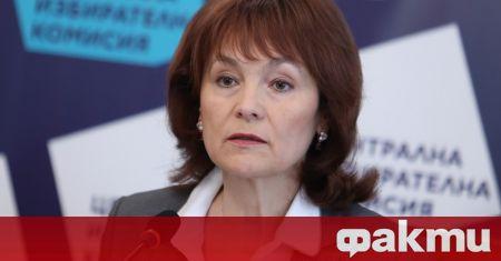 """Продължават преговорите мужду ЦИК и """"Сиела норма"""", съобщи Росица Матева"""