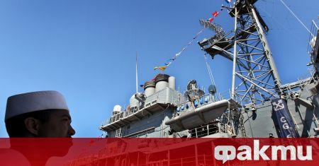 Хиляди незаконни оръжия са били задържани от американския крайцер ''Монтерей'',