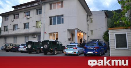 Полицейски действия са се провели под ръководството на Софийска окръжна