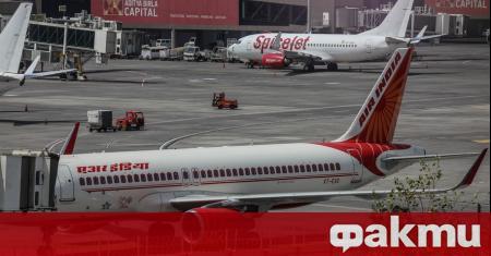 Самолет на авиокомпания Air India, който на 30 май излетя