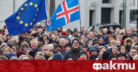 Мъжете ще са мнозинство в новия парламент на Исландия, съобщи