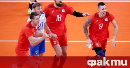 Волейболистите от тима на Руския олимпийски комитет се класираха на
