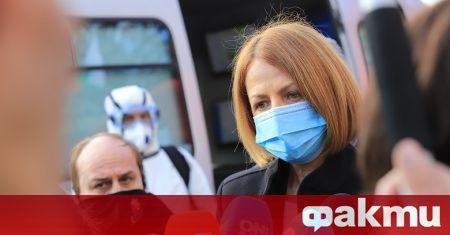 Столичният кмет Йорданка Фандъкова беше категорична, че ще си постави