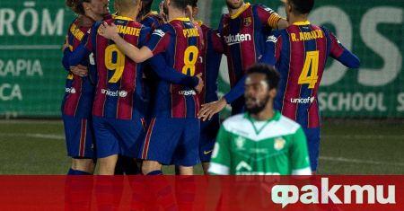 РБ Залцбург спечели с 2:1 в контрола срещу Барселона, която