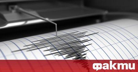 Слабо земетресение с магнитуд 2,5 по Рихтер е регистрирано в