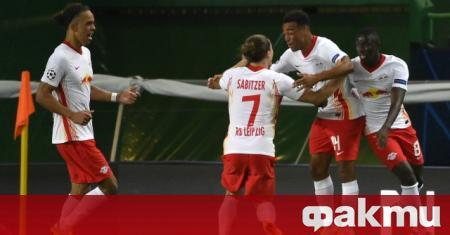 РБ Лайпциг надви Атлетико (Мадрид) с гол в края и