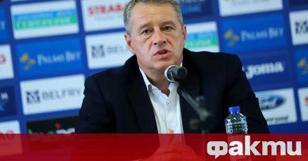 Новият изпълнителен директор на Левски Ивайло Ивков заяви, че очаква
