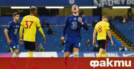 Челси разби гостуващия Уотфорд с 3:0 в мач от 33-ия