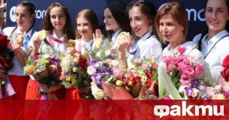 Олимпийските шампионки от ансамбъла по художествена гимнастика ще участват за