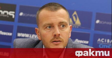 Евентуалният нов собственик на футболния Левски - британецът Джоузеф Диксън,