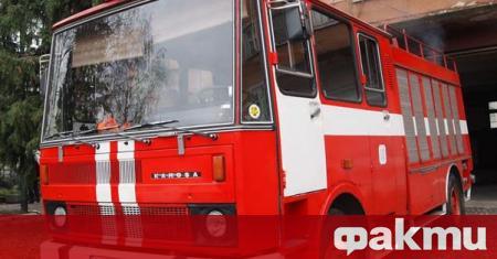 Пожарът между любимешките села Оряхово и Георги Добрево, който избухна