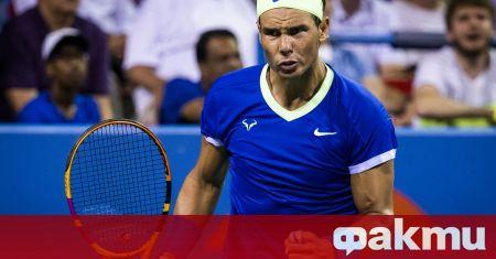 Испанският тенисист Рафаел Надал подкрепи жертвите на изригването на вулкана
