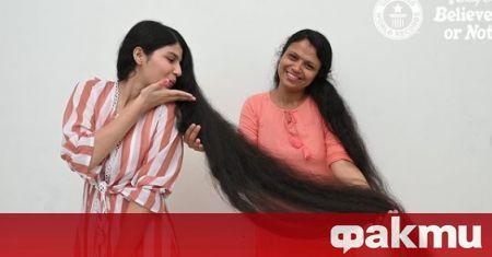 Младата индийка, притежаваща рекорда на Гинес за най-дълга коса, откакто