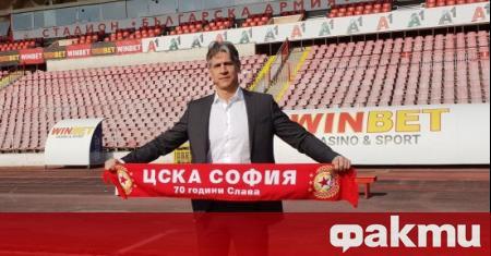 Спортният директор на ЦСКА Кристиано Джарета коментира бъдещето си на