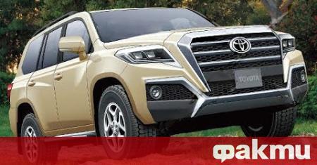 Следващото поколение на Toyota Land Cruiser Prado ще има самоносеща