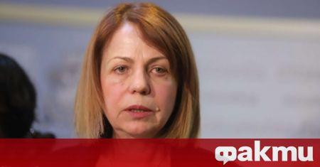 Кметът на София Йорданка Фандъкова е с положителен тест за