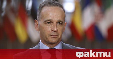 """Германският външен министър Хайко Маас изрази възмущението си от """"абсолютно"""