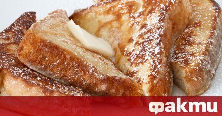 Необходими продукти: 1 хляб 3/4 ч.ч. брашно 4 яйца 1