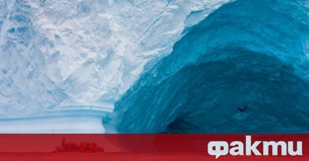 Ледът в Северния ледовит океан се сви до второто най-ниско