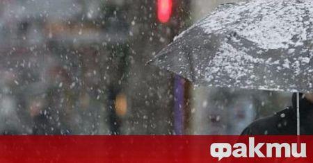 Днес валежите ще са предимно слаби, само в югоизточните райони