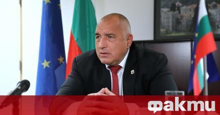 От днес, 25 октомври, министър-председателят Бойко Борисов е с положителен