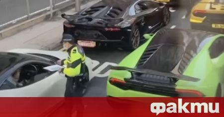 Мащабна акция на властите в Хонг Конг предизвика интересна гледка