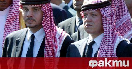 Йорданският принц Хамза, чиято титла на престолонаследник беше отнета през