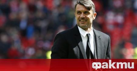 Спортният директор на Милан и легенда на клуба Паоло Малдини