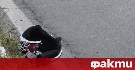 Мотоциклетист е загинал при тежка катастрофа в София около 10:30