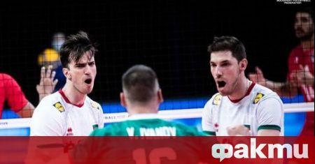 Националният отбор на България по волейбол загуби с 0:3 гейма