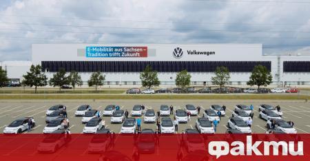 Заводът на Volkswagen в Цвикау оттук нататък ще произвежда изключително