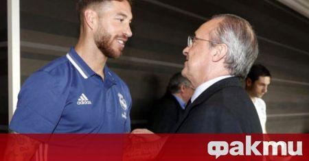 Серхио Рамос ще получи нов договор от Реал Мадрид, само,