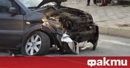 59-годишен шофьор е бил ранен при верижна катастрофа в Бургас,