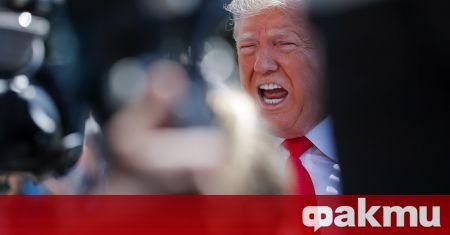 Президентът Доналд Тръмп заяви вчера отново, че е спечелил изборите