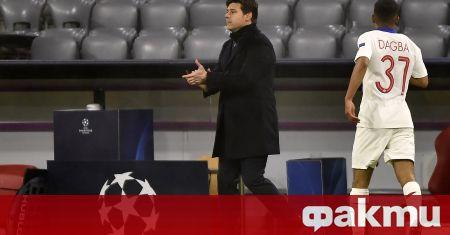 Треньорът на Пари Сен Жермен Маурисио Почетино изрази огромната си