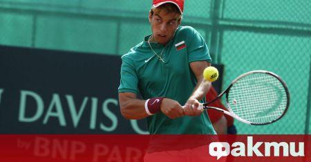 Огромен скок в световната ранглиста направи българският тенисист Адриан Андреев.