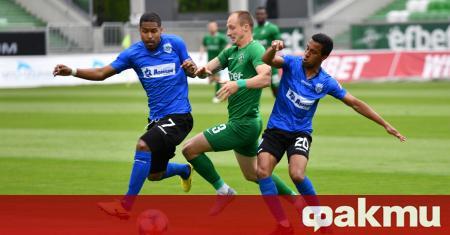 Черно море записа успех с 1:0 срещу Лудогорец в контролна