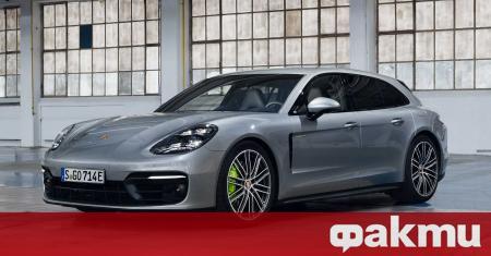 Ресталинг варианта на Panamera дебютира още през август, но Porsche