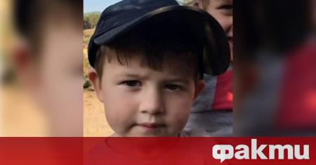 Дете на 2 години и 7 месеца е изчезнало от
