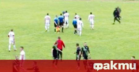 Феновете загробиха Беласица с побой над противникови футболисти и ритник