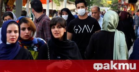 Случаите на заразяване с коронавирус в Иран за изминалото денонощие