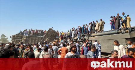 Голям брой жертви е взела катастрофата между влакове в Египет,