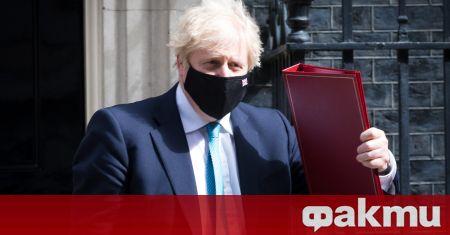 Британският премиер Борис Джонсън заяви на специална пресконференция, че индийският