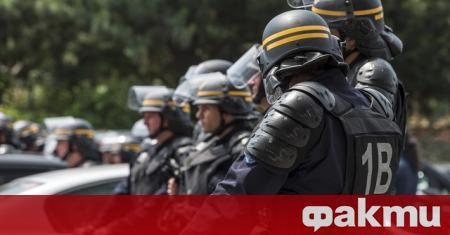 По-рано тази вечер се проведе полицейска операция в Лион след
