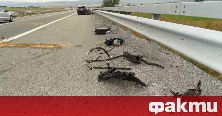 17 души в превозните средства са пострадали при инцидента, станал