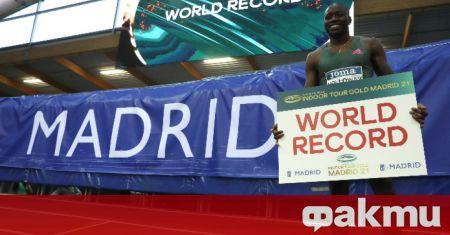 Световният шампион на 110 метра с препятствия Грант Холоуей подобри