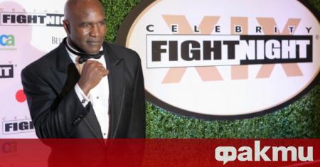 Боксовата легенда Ивендър Холифийлд обяви, че отново ще се върне