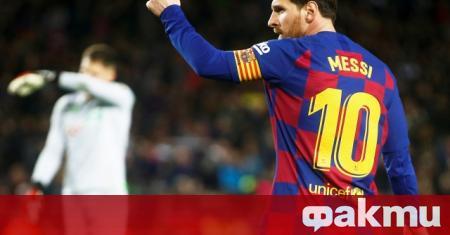 Суперзвездата на Барселона - Лионел Меси, най-вероятно ще пропусне първия