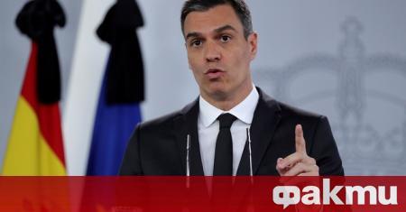 Испанският премиер Педро Санчес заяви, че ще поиска тази седмица