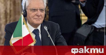 Италианският президент Серджио Матарела започна разговори за формирането на ново
